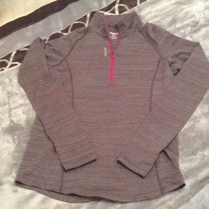 Reebok Girls Size XL 14-16 1/4 Zip Pullover NWOT